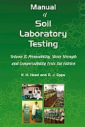 Manual of Soil Laboratory Testing vol II Cover