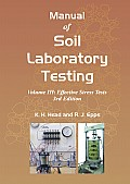 Manual of Soil Laboratory Testing vol III Cover
