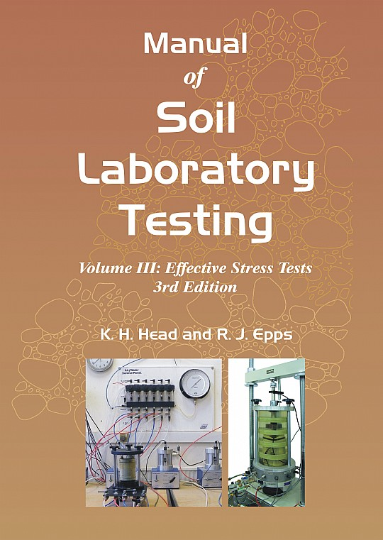 manual of soil laboratory testing vol iii  r  j  epps and